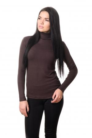 Водолазка женская LADY Winter 4702 - коричневый