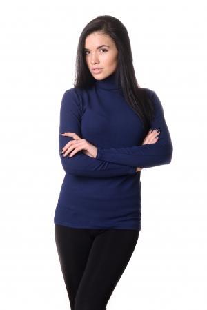 Водолазка женская LADY Winter 4703 - темно синий