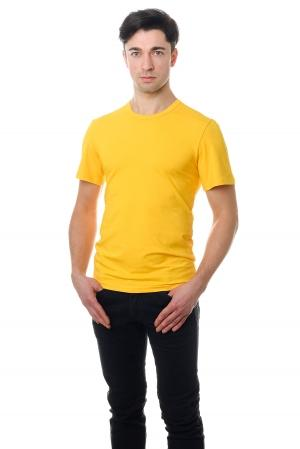 Футболка мужская 6707 - желтый
