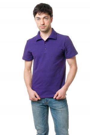 Футболка Polo Эгоист7018 - Фиолет
