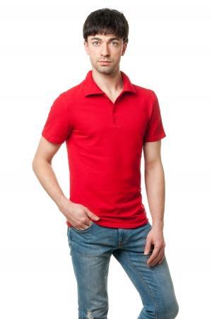 Футболка Polo Эгоист7019 - Красный