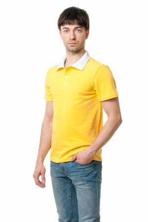 Футболка Polo Эгоист7021 - Желтый