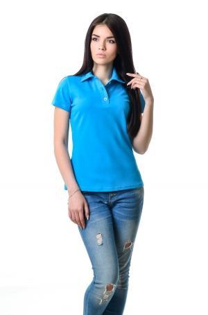 Женская футболка Поло Lider 2812 - бирюза