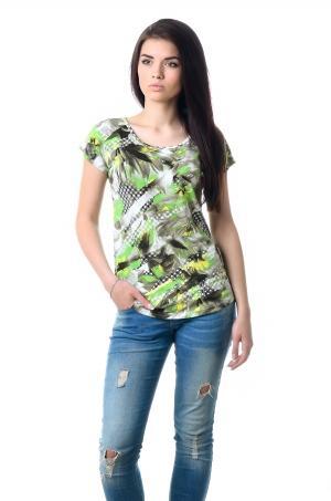 Женская вискозная футболка - 1022