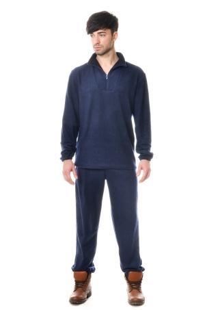 Костюм флисовый 7840 - Omega 1 темно-синий