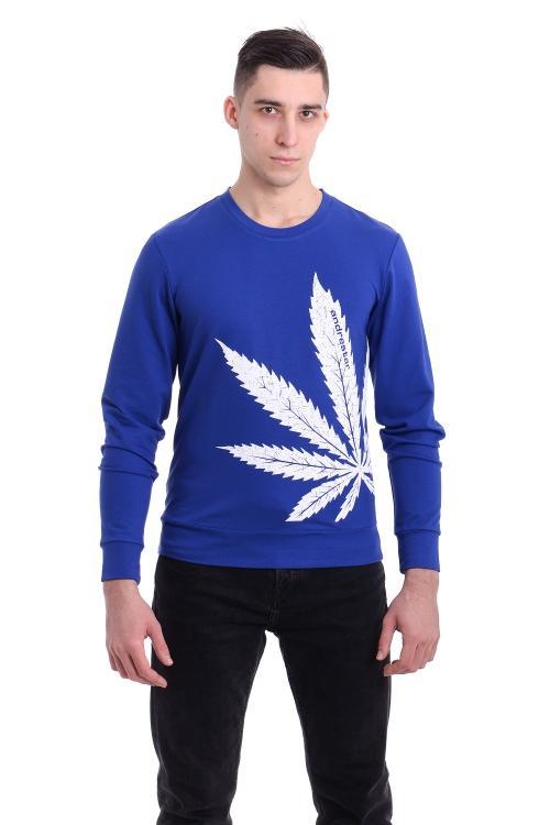 Свитшот Cannabis - 3352 электрик