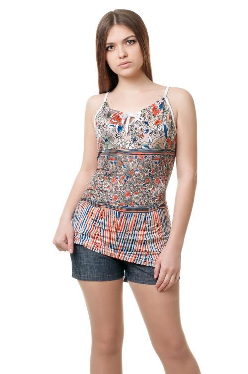 Женская вискозная футболка - 1010