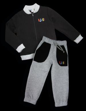 Детский костюм - 4121 черный