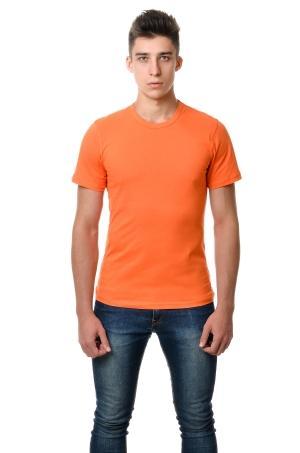Футболка мужская AndreStar 3008 - оранжевый
