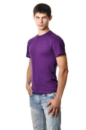 Футболка мужская AndreStar 3029 - фиолетовый