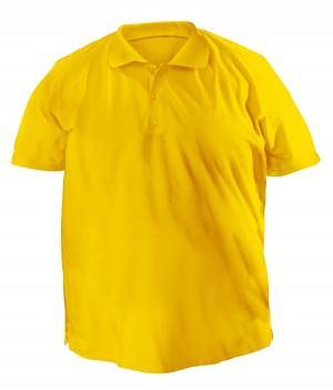Футболку Polo большая - 7027 желтый