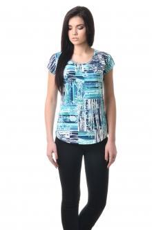 Женская вискозная футболка - 1017