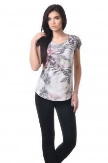 Женская вискозная футболка - 1018