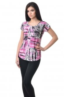 Женская вискозная футболка - 1019