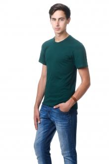 Футболка мужская AndreStar - 3004 - темно-зеленый