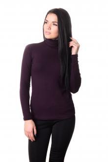 Водолазка женская LADY Winter 4704 - баклажан