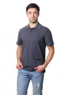 Футболка Polo Эгоист 7043 - темно серый