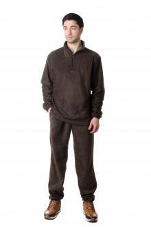 Костюм флисовый 7860 - Omega 1 коричневый