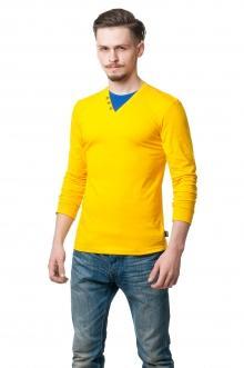 Реглан комби 9803 - желтый