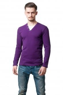 Реглан комби 9804 - фиолет