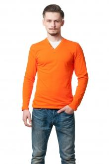 Реглан комби 9806 - оранжевый