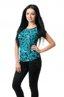 Женская вискозная футболка - 1001