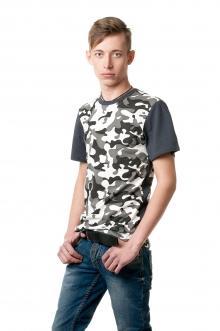 Камуфляжная футболка 7803 - Арминау