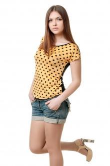 Женская вискозная футболка - 1009
