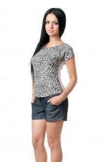 Женская вискозная футболка - 1005