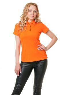 Футболка Polo женская Lider 2800- оранжевый