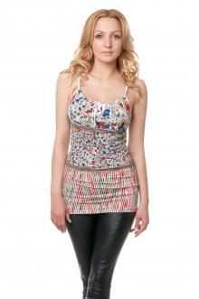 Женская вискозная футболка - 1011