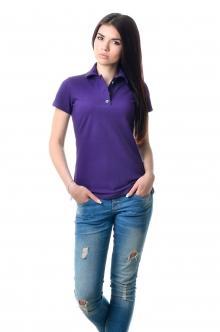 Женская футболка Поло Lider 2815 - фиолетовый