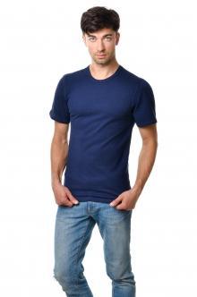 Футболка мужская AndreStar 3028 - темно-синий