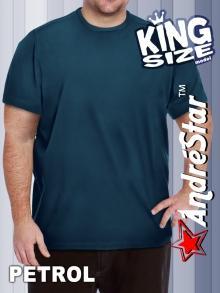 """Большая футболка """"King Size"""" - 3034Petrol"""