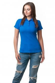Женская футболка Поло Lider2804 - электрик