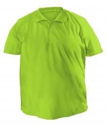 Большая футболку Polo - 7038 оливковый
