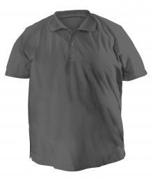Футболку Polo большого размера - 7043 темно-серый