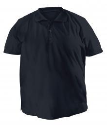 Футболку Polo большого размера - 7014 темно-синий