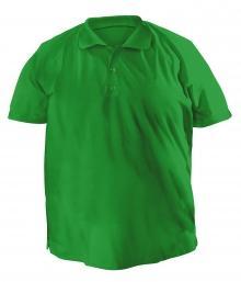 Футболку Polo большая - 7020 зеленый