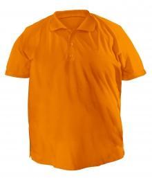 Футболку Polo большая - 7020 оранжевый