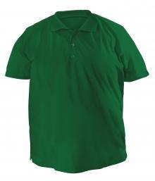 Футболку Polo большая - 7020 темно-зеленый