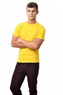 Футболка мужская AndreStar 3035 - желтый