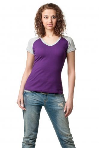 Футболка женская серии 2200-5 - фиолет