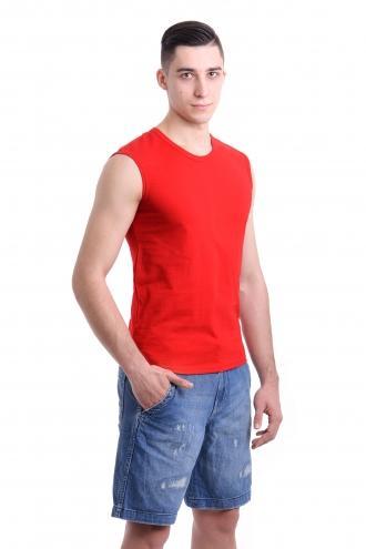 Безрукавка - красный 2757