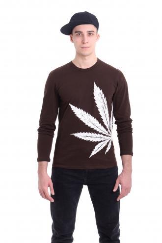 Реглан Cannabis  - 3251 коричневый