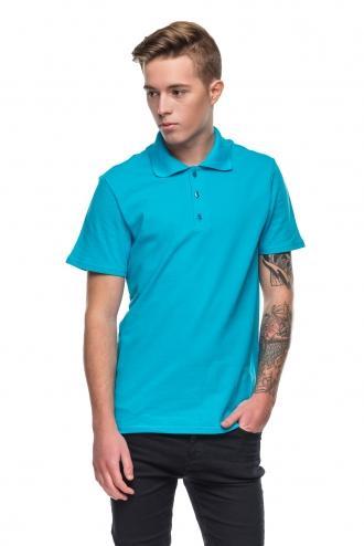 Футболка Polo - 7057 - голубой