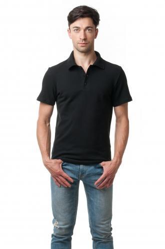 Футболка Polo Эгоист 7015 - черный классик