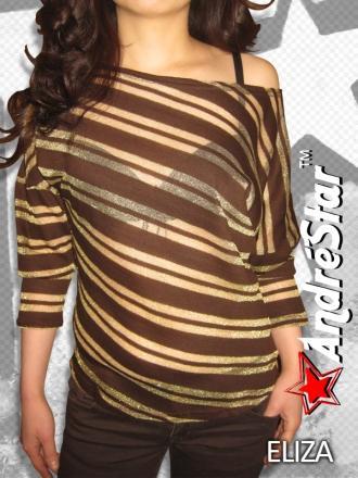 """Женская футболка с длинным рукавом """"ELIZA"""" 5415"""