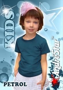 """Детская футболка """"AndreStar Kids"""" - Petrol"""