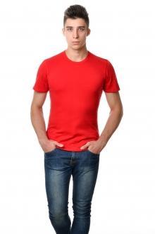 Футболка мужская AndreStar 3018 - красный
